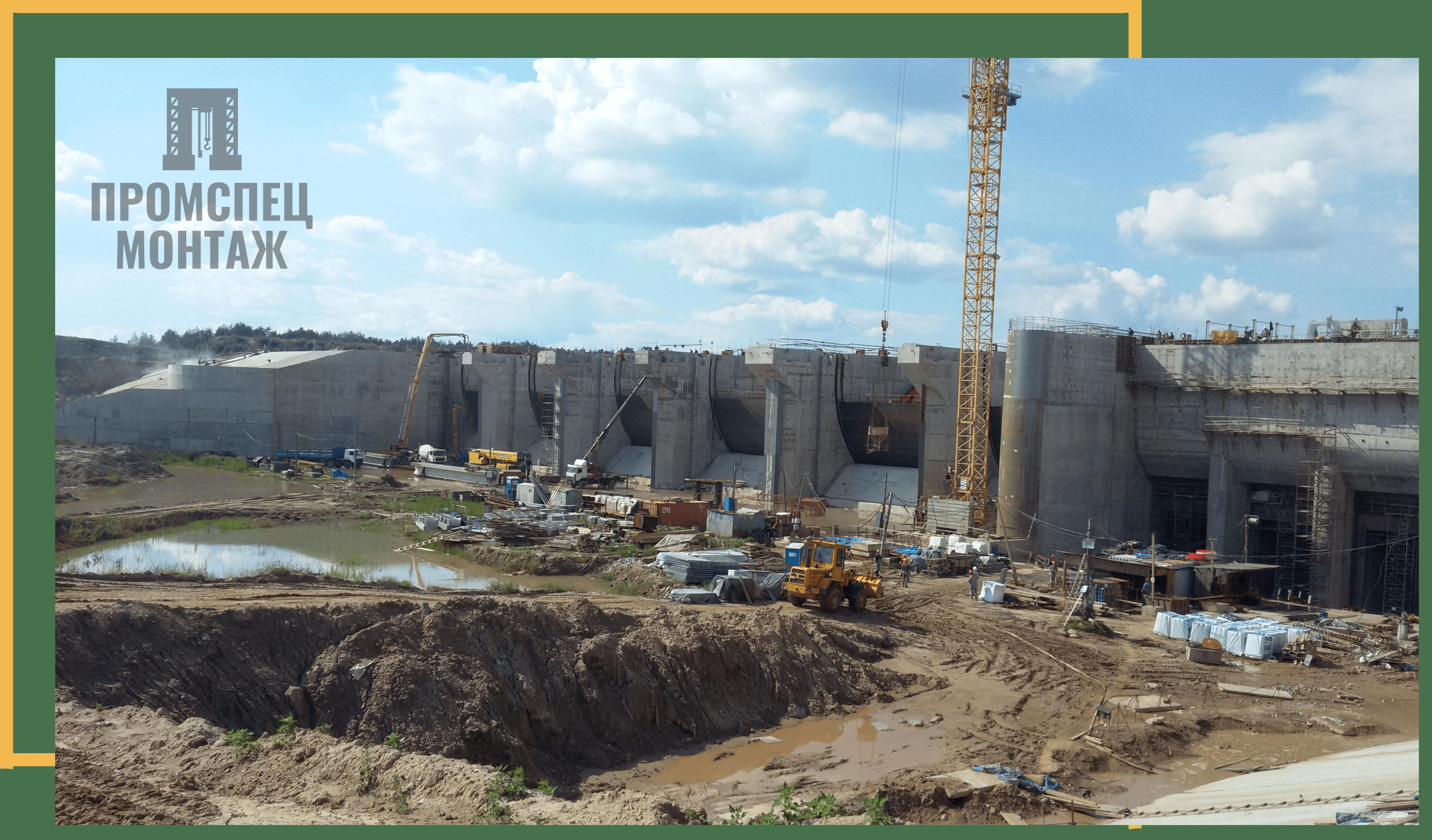 Строительство Полоцкой ГЭС