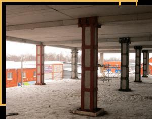Усиление конструкций производственных зданий